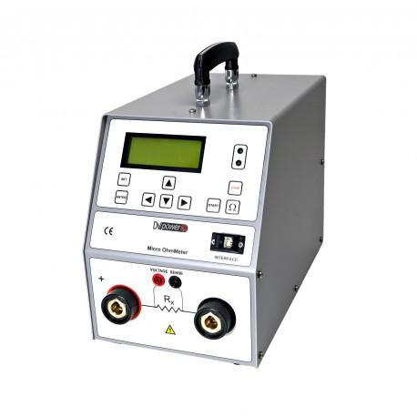 Micro Ohmmetro RMO100M di DV-Power