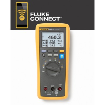Multimetro wireless FC 3000 di Fluke