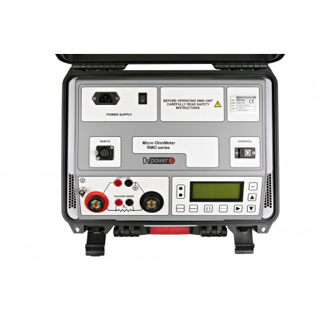 Micro Ohmmetro RMO500G  di DV-Power