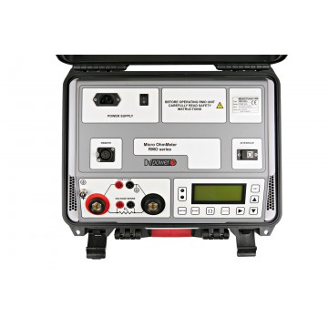 Micro Ohmmetro RMO600D  di DV-Power