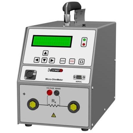 Micro Ohmmetro RMO60E di DV-Power